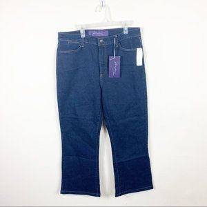 Not your daughters jeans: darkwash bootcut